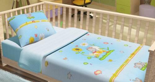 Какой размер постельного белья в детскую кроватку