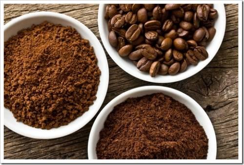 Как производят молотый кофе?