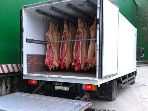 Как перевозят продукты питания