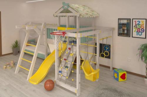 Как выбрать детский игровой комплекс
