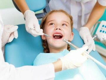 Как лечат пульпит молочных зубов