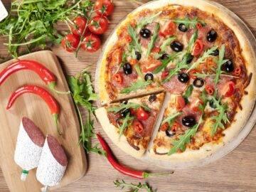 Как приготовить острую пиццу