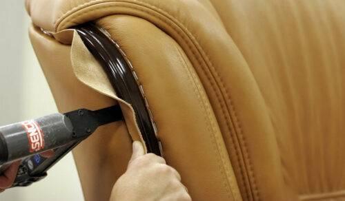 Как перетянуть мягкую мебель