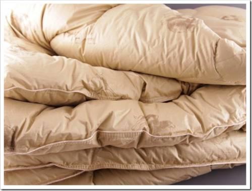 Материал одеяла имеет решающее значение
