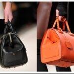 С чем носить сумку-саквояж?