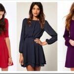 Какие фасоны платьев модны в 2019 году