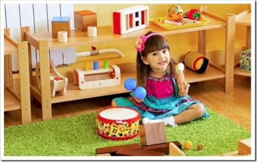 Классические примеры игрушек Монтессори