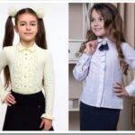 Школьная блузка: как выбрать и с чем носить
