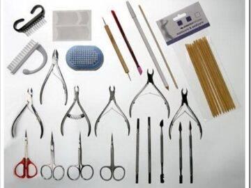 Инструментальный сет для маникюра в домашних условиях
