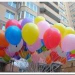 Воздушные шары с гелием как подарок и украшение помещения