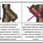 Как правильно установить сетчатый фильтр на трубопроводе