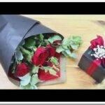 Как красиво упаковать букет роз