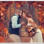 Осенняя свадьба: какие аксессуары выбрать невесте