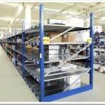 Виды и характеристики полочных стеллажей для склада