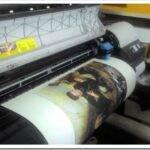 Описание технологии печати на холсте