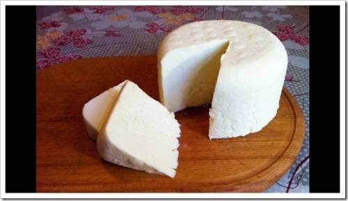Как отжать сыр?