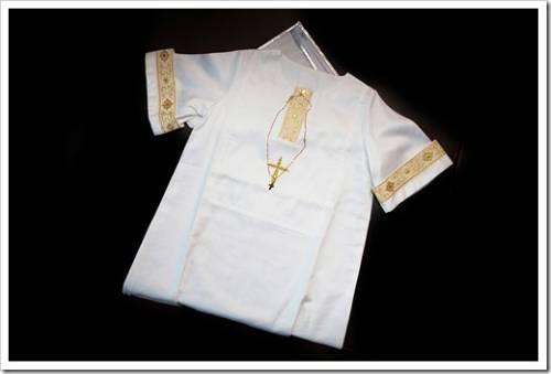 Классическая одежда для крещения