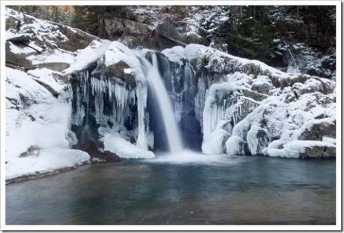 Водопады Буковеля