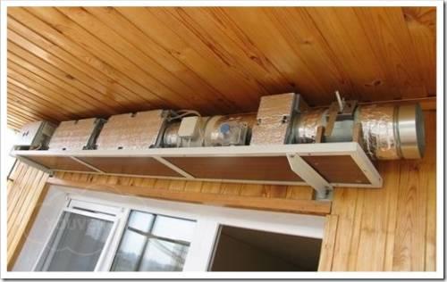 Из чего состоит классическая система приточно-вытяжной вентиляции?