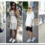 Женские белые кеды — как выбрать и с чем носить