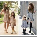 Как выбрать комплект одинаковой одежды мама-дочь