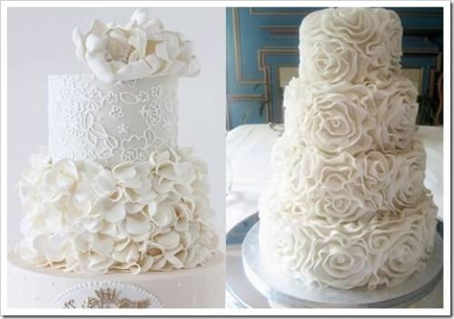 Особые приёмы в производстве свадебного торта