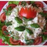 Салат «День рождения» — рецепт с фото