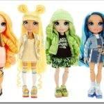 Какие есть новые куклы серии Rainbow High