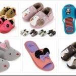Виды детских тапочек и как их выбрать