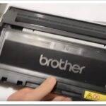 Как заправить картридж лазерного принтера Brother