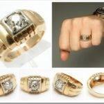 Как выбрать мужское золотое кольцо