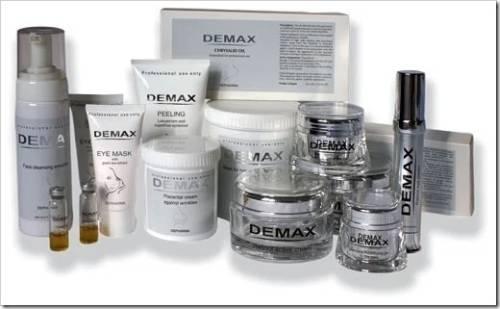Главные плюсы использования косметики от Demax