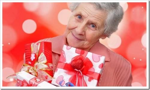 Что подарить бабушке просто так