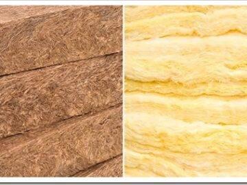 Базальтовая вата или минеральная вата