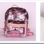 Виды рюкзаков с пайетками для девочек и советы по выбору