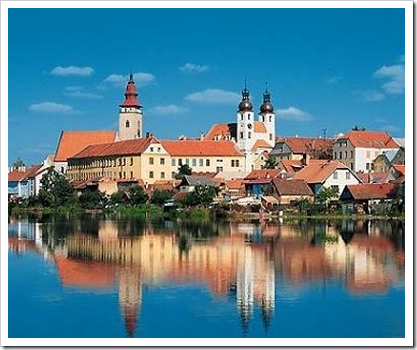 Чешский Тельч – «моравская Венеция»