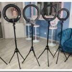 Как выбрать кольцевую лампу со штативом для фото и видеосъемки