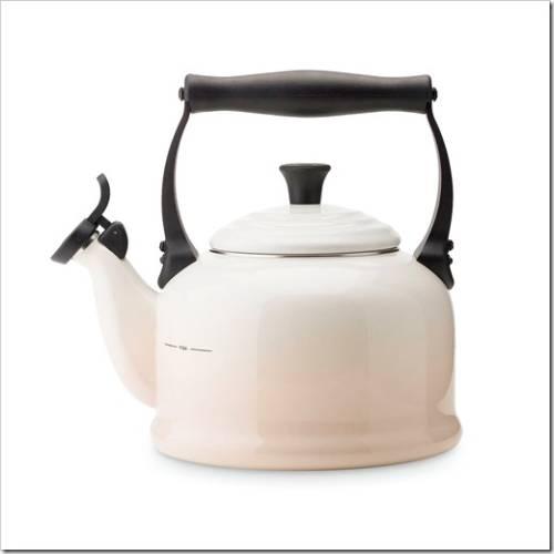 эмалированный чайник из нержавеющей стали