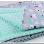 Каким должен быть летний плед—одеяло для новорожденных: размеры, состав ткани