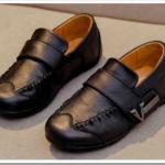 Туфли для мальчиков в школу из натуральной кожи