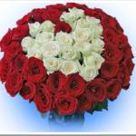 Как собрать красивый букет из 51 розы