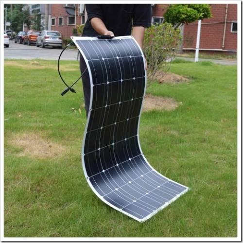 Принципы установки гибких солнечных панелей